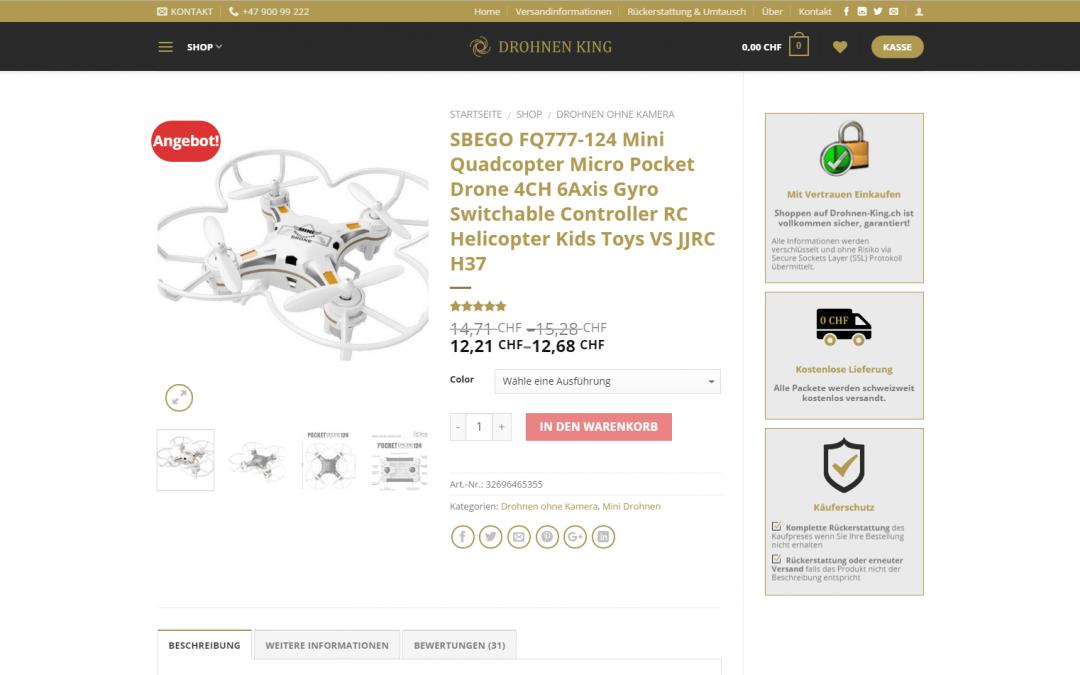 E-Commerce: Drohnen King