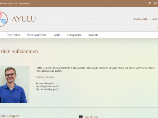 Webdesign: ayulu.ch