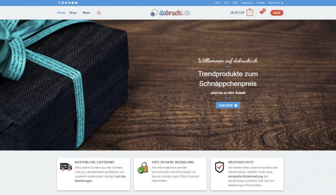 Online Shop dabruchi.ch